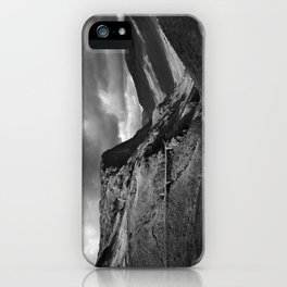 Fleetwith Pike and Honister Crag. Honister Pass, Lake District, Cumbria, UK iPhone Case