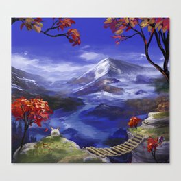Mountains 're Nice Canvas Print