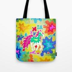 Splattered Unicorn Tote Bag