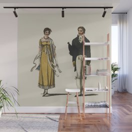 Lady and Gent Wall Mural