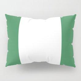 Nigeria flag emblem Pillow Sham