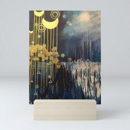Rain Spell Original Painting by Rachael Rice Mini Art Print