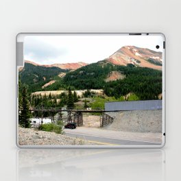 1880's Gold Rush - The Idarado Mine and Red Mountains Laptop & iPad Skin