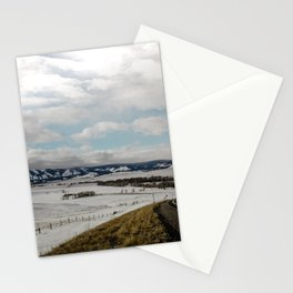 Wyoming Roads Stationery Cards
