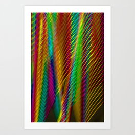 Feathers in Abstract Art Print
