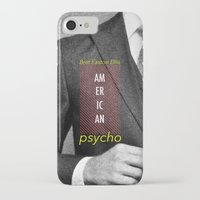 american psycho iPhone & iPod Cases featuring american psycho  by Andy Torres