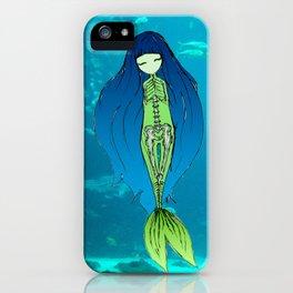 Mermaid Skeleton iPhone Case