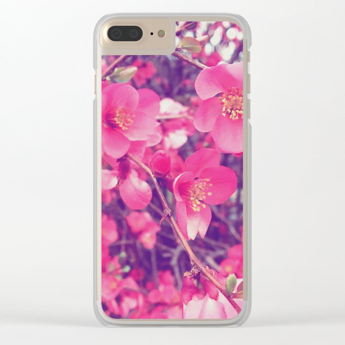 Blosom Clear iPhone Case