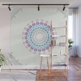 Hawaiian Diamond Header Mandala 2 Wall Mural