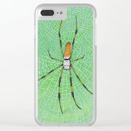 Casual Geometry Clear iPhone Case
