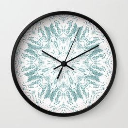 Vintage Kaleidoscope Wall Clock