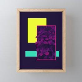 Neon Bush #society6 #retro Framed Mini Art Print