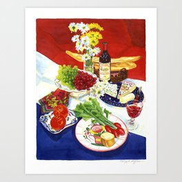 French Still Life Art Print