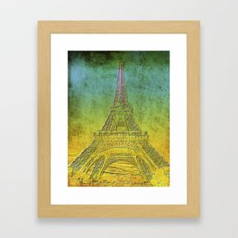 Tour Eiffel #4 Framed Art Print