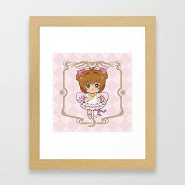 Sakura Kinomoto - Platinum Framed Art Print