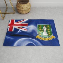 British Virgin Islands Flag Rug