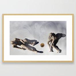 Our Relationship Status IRL Framed Art Print