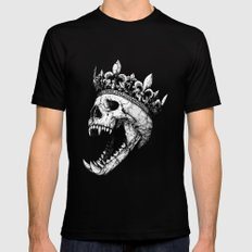 Ancients Kings : The Hound Black Mens Fitted Tee X-LARGE