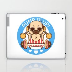 Pump It Up, Puglie! Laptop & iPad Skin