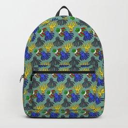 Kyle's babies print (PaleTeal) Backpack