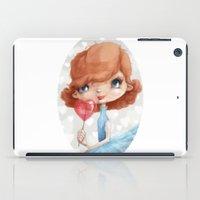 valentine iPad Cases featuring Valentine by Jenny Lindqvist