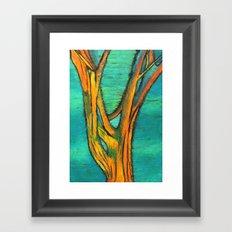 A Tree I drew Framed Art Print