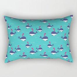I Whale Always Love You Rectangular Pillow