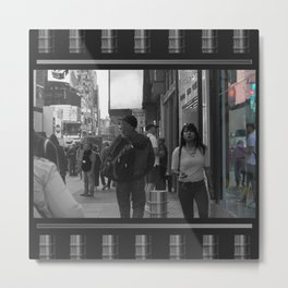 Reflections in Color: New York City Metal Print