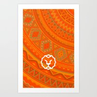 vodka Art Prints featuring Vodka Skin by kacksclothier