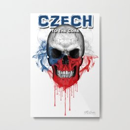 To The Core Collection: Czech Republic Metal Print
