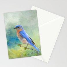 Bluebird In The Garden Stationery Cards