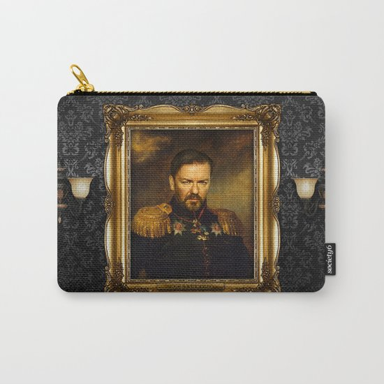 Ricky Gervais - replaceface Carry-All Pouch