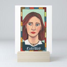 Lady Bird Portrait Mini Art Print