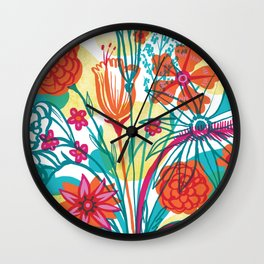 G.D.Flowers: Some More Flowers, Geez! Wall Clock