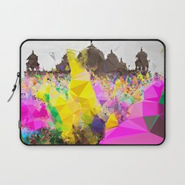 The Color of Travel : India Holi Festival Laptop Sleeve
