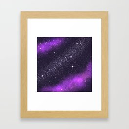 Ultra Violet! Framed Art Print