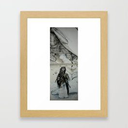 ooo Framed Art Print