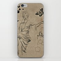 justice iPhone & iPod Skins featuring Justice by Maithili Jha