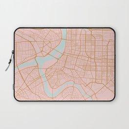 Taipei map, Taiwan Laptop Sleeve