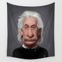 Celebrity Sunday ~ Albert Einstein Wall Tapestry