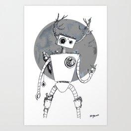He's Gone Wild... Art Print