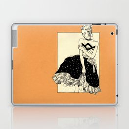 Vintage lady#2 Laptop & iPad Skin