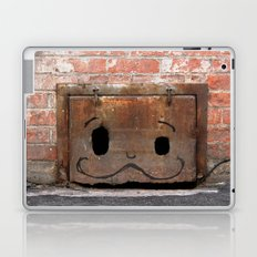 Graffiti Mustache Laptop & iPad Skin