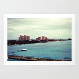 Atlantis: Bahamas Art Print