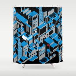 The Suburbs Shower Curtain