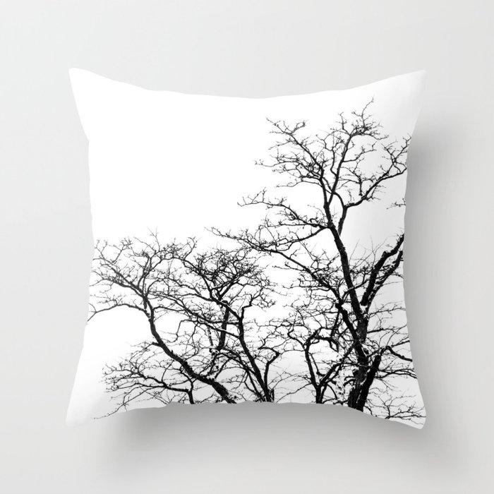 Winter Morning Throw Pillow