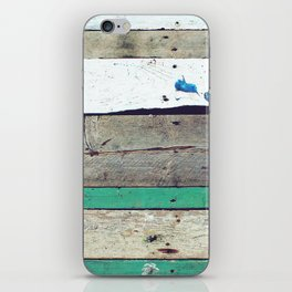 Battens-wood iPhone Skin