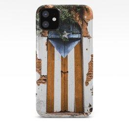 Puerto Rico Door iPhone Case