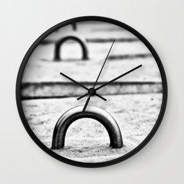 City Shapes Wall Clock