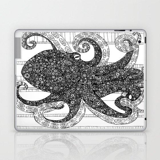 Mr. Octo Laptop & iPad Skin